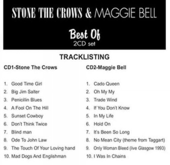 Stone The Crows And Maggie Bell - Best Of B 350