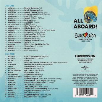 Various Artists - Eurovision Song Contest 2018 B